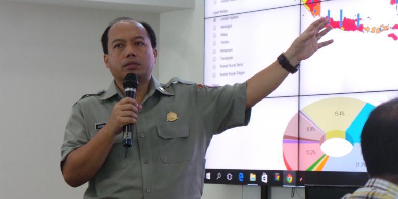 Kepala Pusat Data Informasi dan Humas BNPB: Indonesia Rawan Gempa Kecuali Daerah Ini