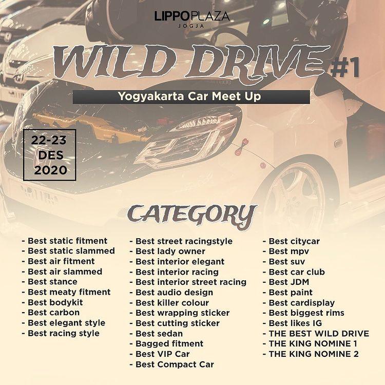 Wild Drive Yogyakarta Car Meet Up