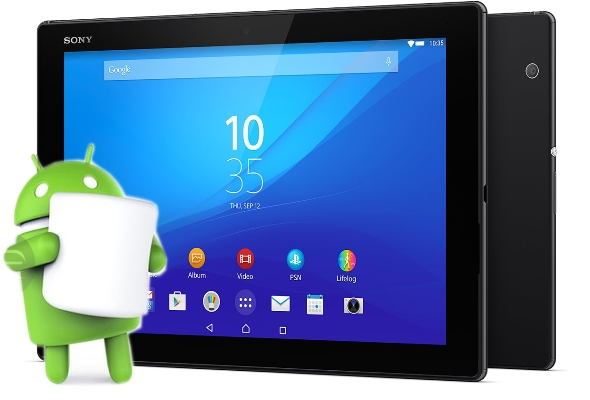 Sony Xperia Z4 Tablet LTE Benelux SGP771 6.0.1 Marshmallow Firmware