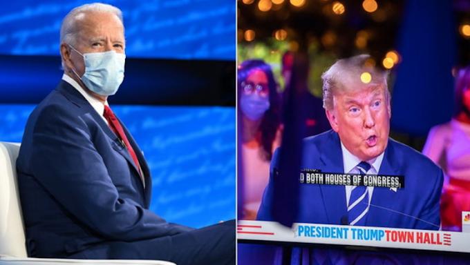 Usa '20, Biden vince il duello a distanza con Trump