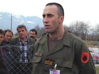 l'ex-rebelle Haradinaj