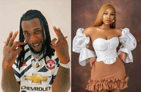 Tacha Sends Message to Burna Boy After He Was Nominated for Another Grammy #Arewapublisize