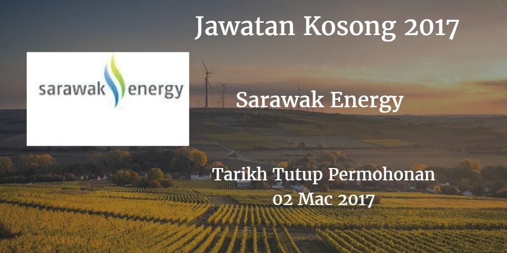 Jawatan Kosong Sarawak Energy 02 Mac 2017