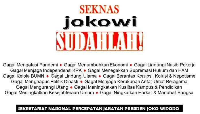 Kemunculan Gerakan SJS Diprediksi Bakal Banjir Dukungan, Rakyat Sudah Muak soal Presiden 3 Periode