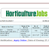 129 Govt. Post Horticulture Officer  & Assistant Director Recruitment-2017