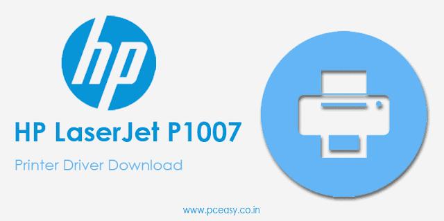 HP LaserJet P1007 Driver