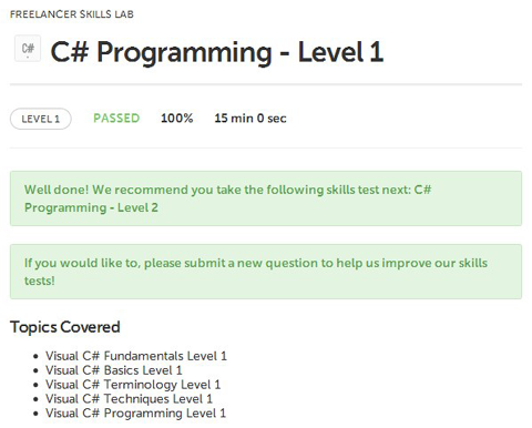 reelancer exams C# Programming Level 1 Fundamentals Basics Terminology Techniques