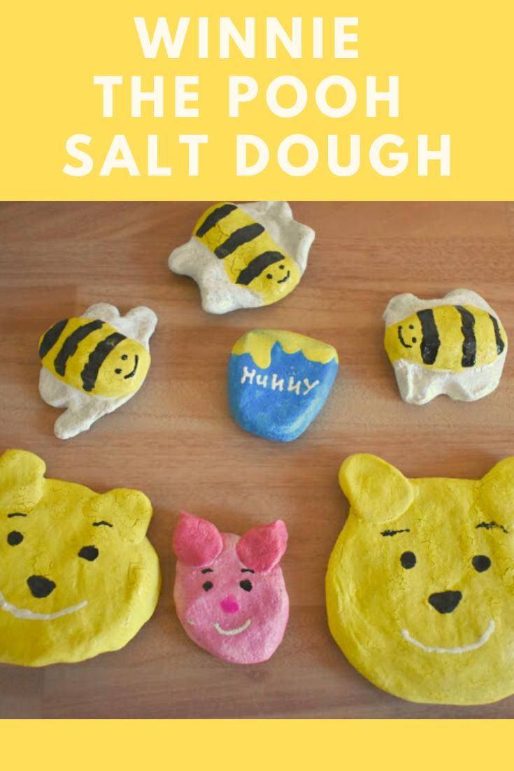 Winnie The Pooh Salt Dough - To celebrate Winnie The Pooh Day!