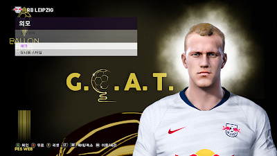 PES 2020 Faces Lukas Klostermann by PESWEB