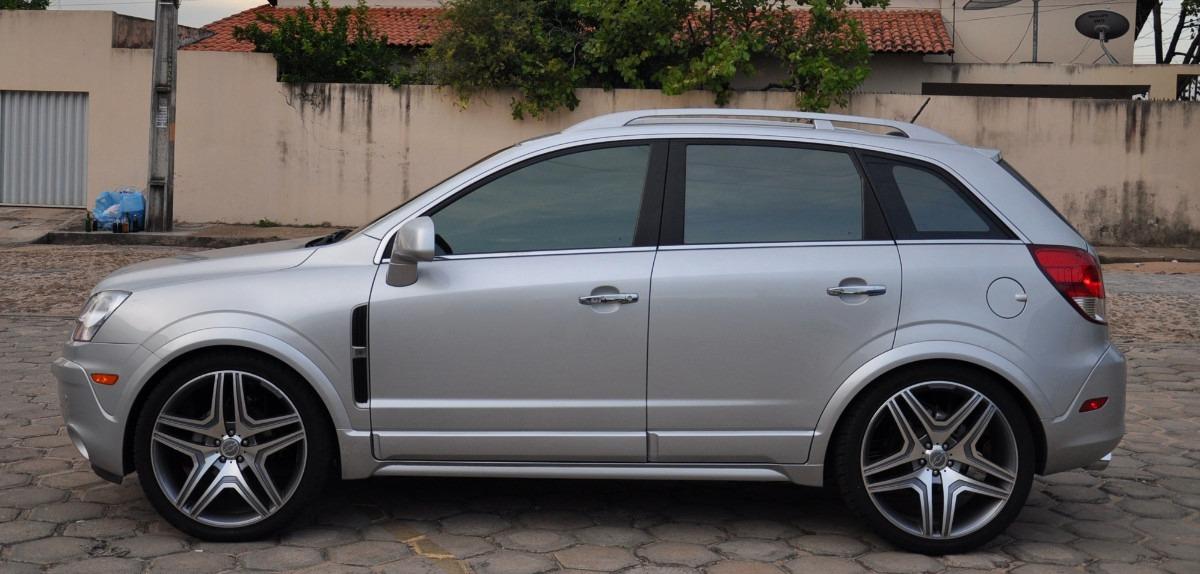 Honda Santa Fe >> Envelopados e Tunados: Captiva Tunada