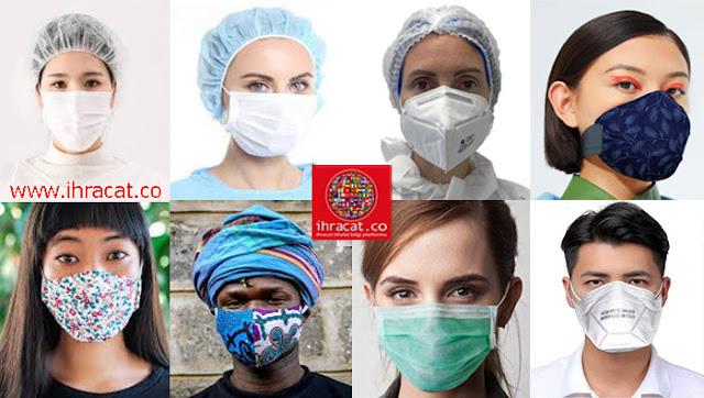 maske türleri, mask types