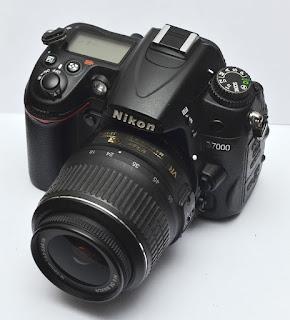 Jual Nikon D7000 + Lensa Bekas