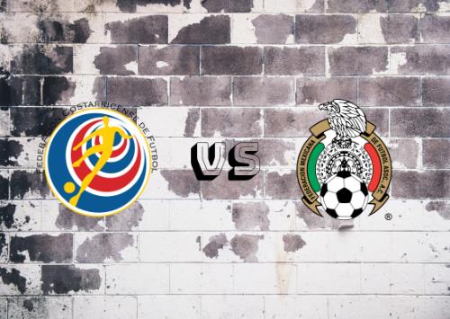 Costa Rica vs México  Resumen