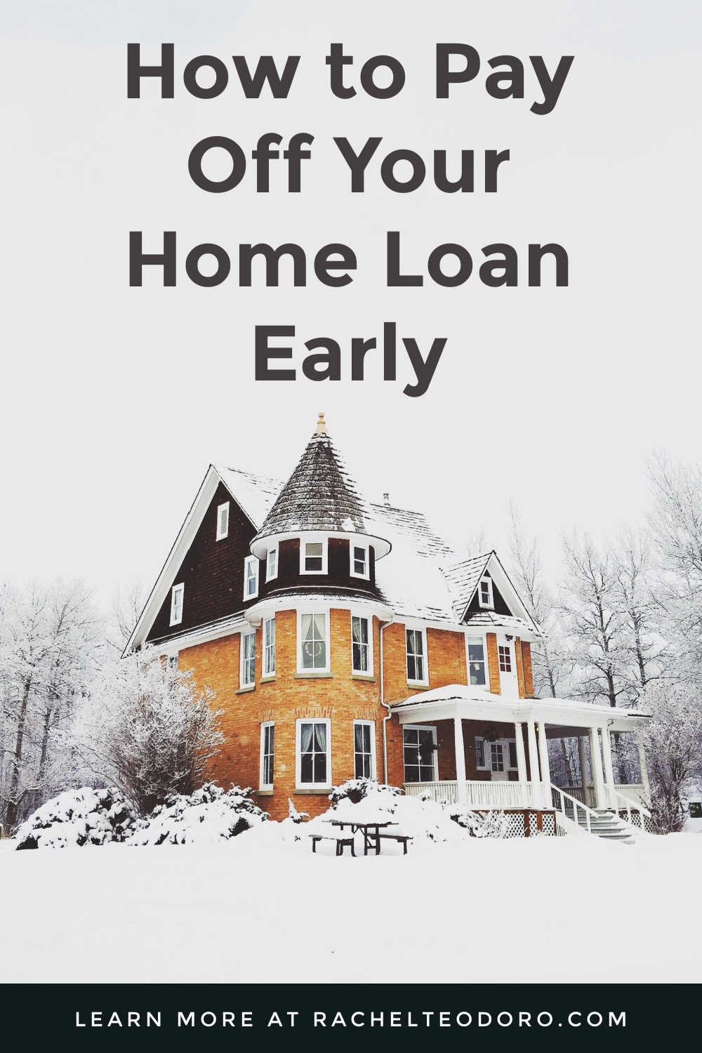 PAY OFF HOME LOAN EARLY