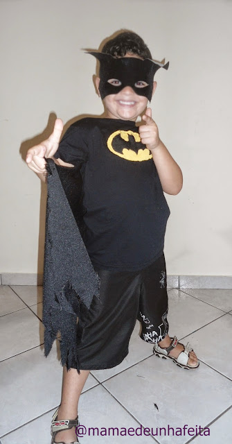 DIY fantasia do Batman