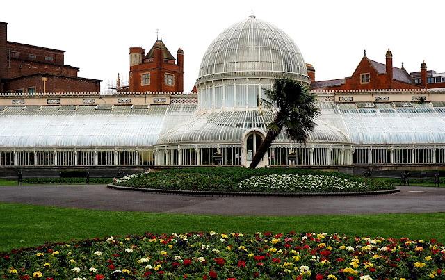 Botanic gardens, belfast, vanha kasvihuone