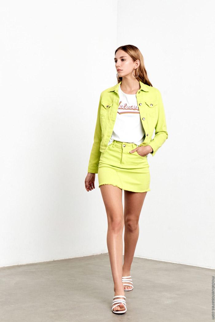 Minis primavera verano 2020 ropa de moda mujer.