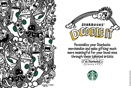 Starbucks Doodle It