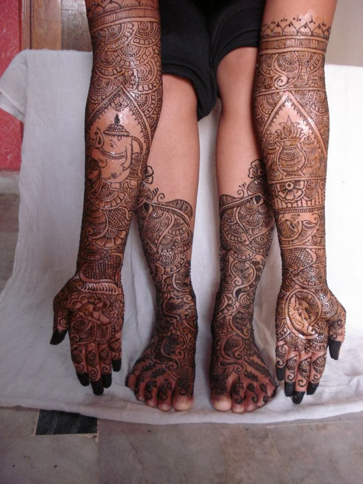 mehandi design for legs and hands pictures 20132014