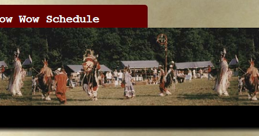 September Pow Wow Schedule Reminder