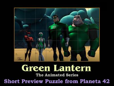 Green Lantern TAS Puzzle