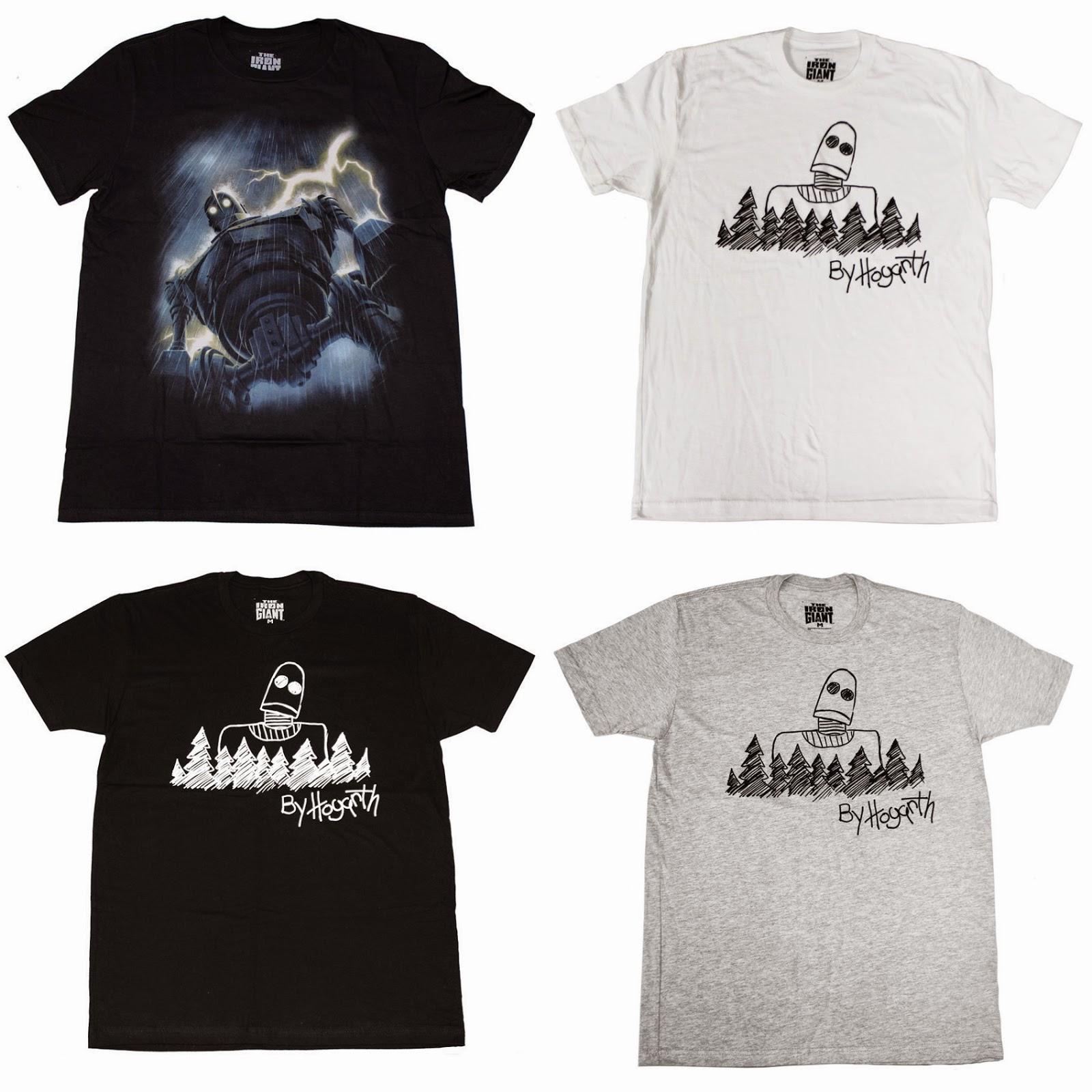 e4c0db54 The Blot Says...: The Iron Giant T-Shirts by Mondo & Jason Edmiston