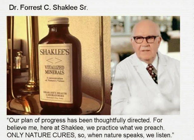 Dr Shaklee Vitalized Minerals