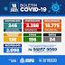 Dados atualizados da Covid-19 desta Segunda-feira (18) no município de Senhor do Bonfim
