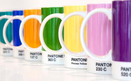 pantone canecas - Pantone, as cores e as tendencias