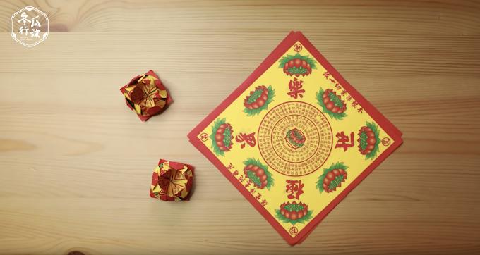 往生摺紙 | 小蓮花摺法教學!影片+圖解讓你5分鐘學會摺小蓮花