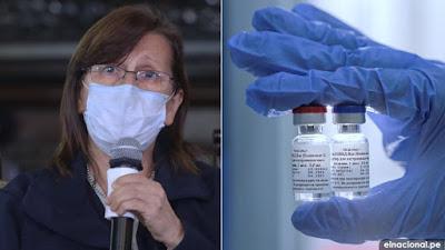 Pilar Mazzetti: Ninguna vacuna ingresará al país sin autorización de su sector