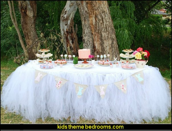 baby shower  tutu Table cloth