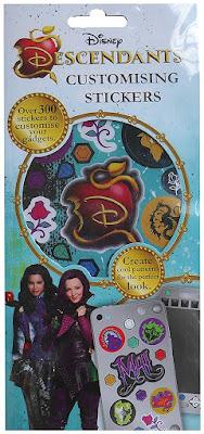 Disney's Descendants Set of 300+ Customising Stickers 6 Sheets
