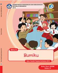 Buku tema 8 Guru Kelas 6 k13 2018