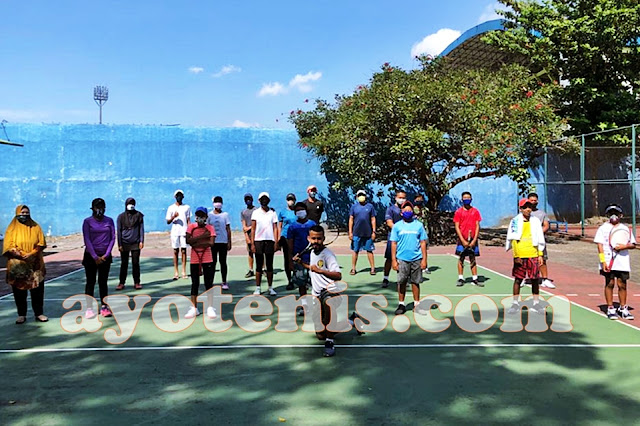 Friendly Match Malang vs Soerabaja Tennis Academy