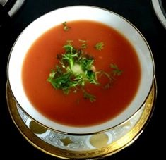 QUICK TOMATO CARROT SOUP RECIPE