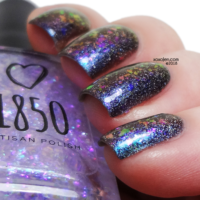 xoxoJen's swatch of 1850 Moon Jelly