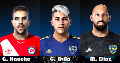 PES 2020 Facepack Superliga Argentina by Gordoumbanda