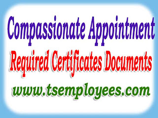 Compassionate Appointments required Certificates documents for ap telangana govt employees to compasianate appointment job to dependents how to apply Compassionate Appointment job in telangana AP rules  Compassionate  Appointment application form GOs Compassionate Appointment to married son daughter wife spouse widow Compassionate Appointment ground jobin medical invalidation ground  campassianate compassionate compasianate appointment job to dependents