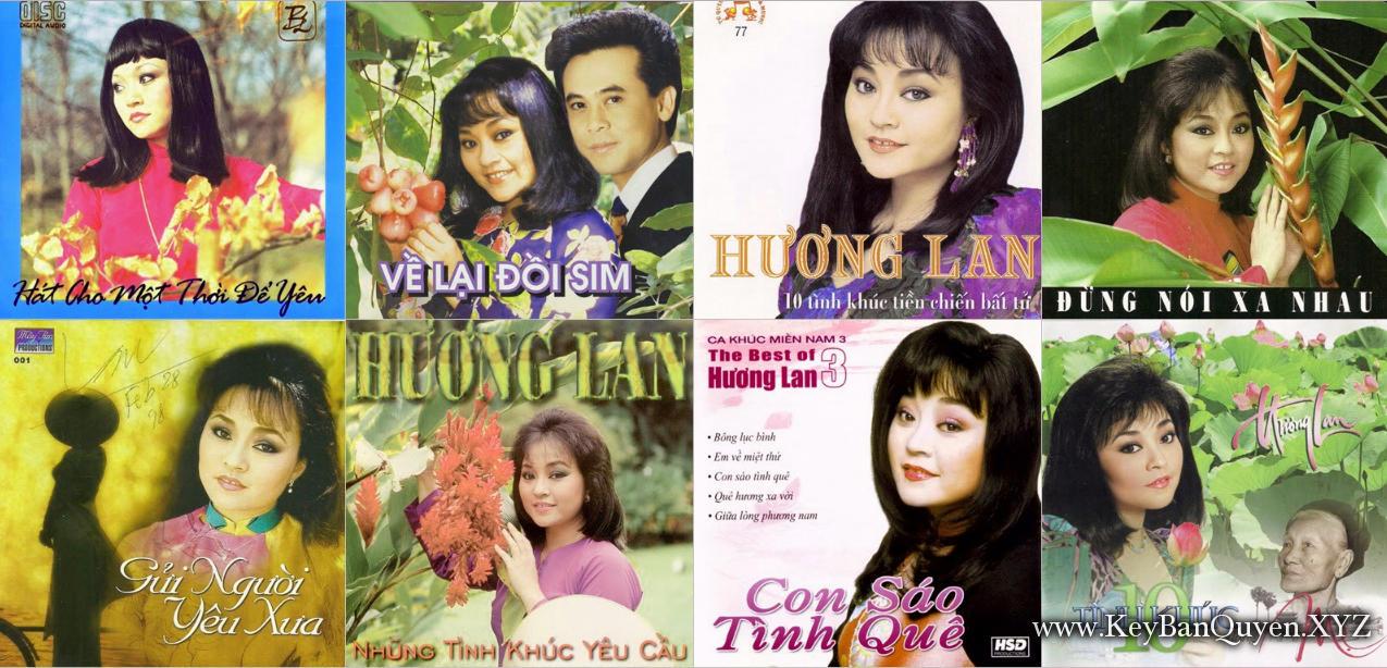 Tổng hợp nhạc FLAC tất cả Album của ca sĩ Hương Lan [ 117 CD ]