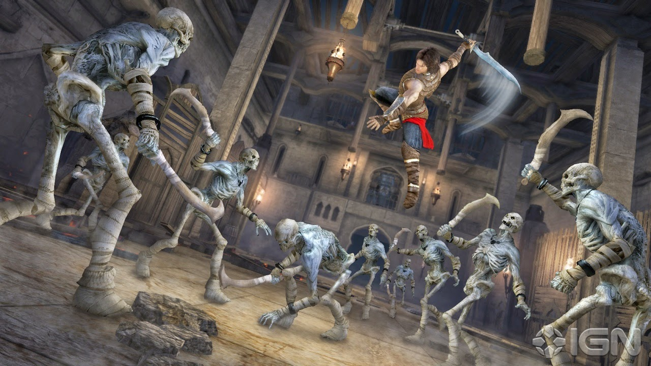 Prince Of Persia the forgotten sand PC game crack Download