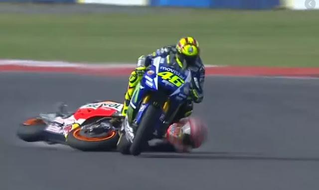 Rossi-Marquez Jatuh