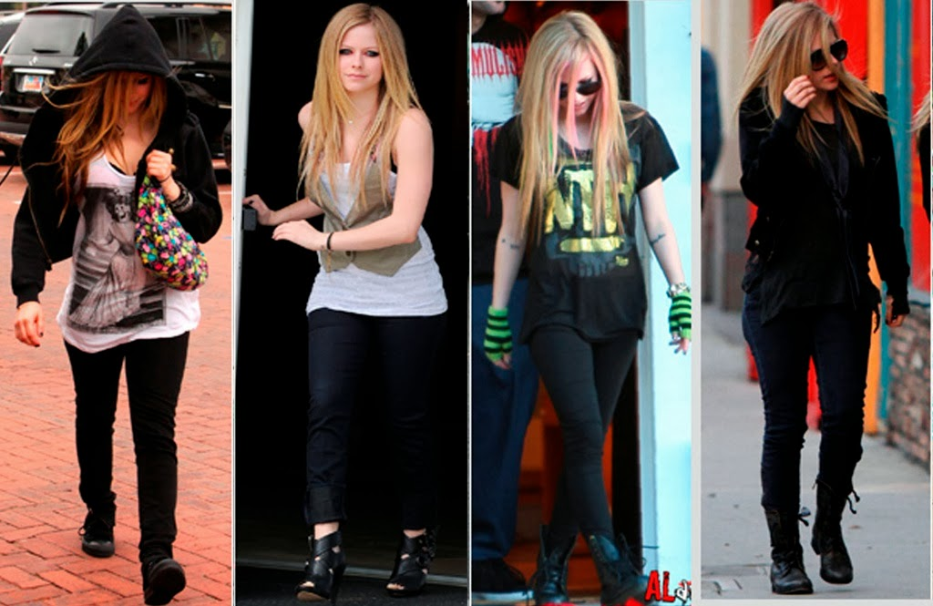 Look S Latest Avril Lavigne