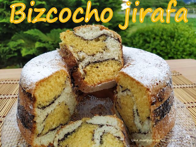 Bizcocho Jirafa