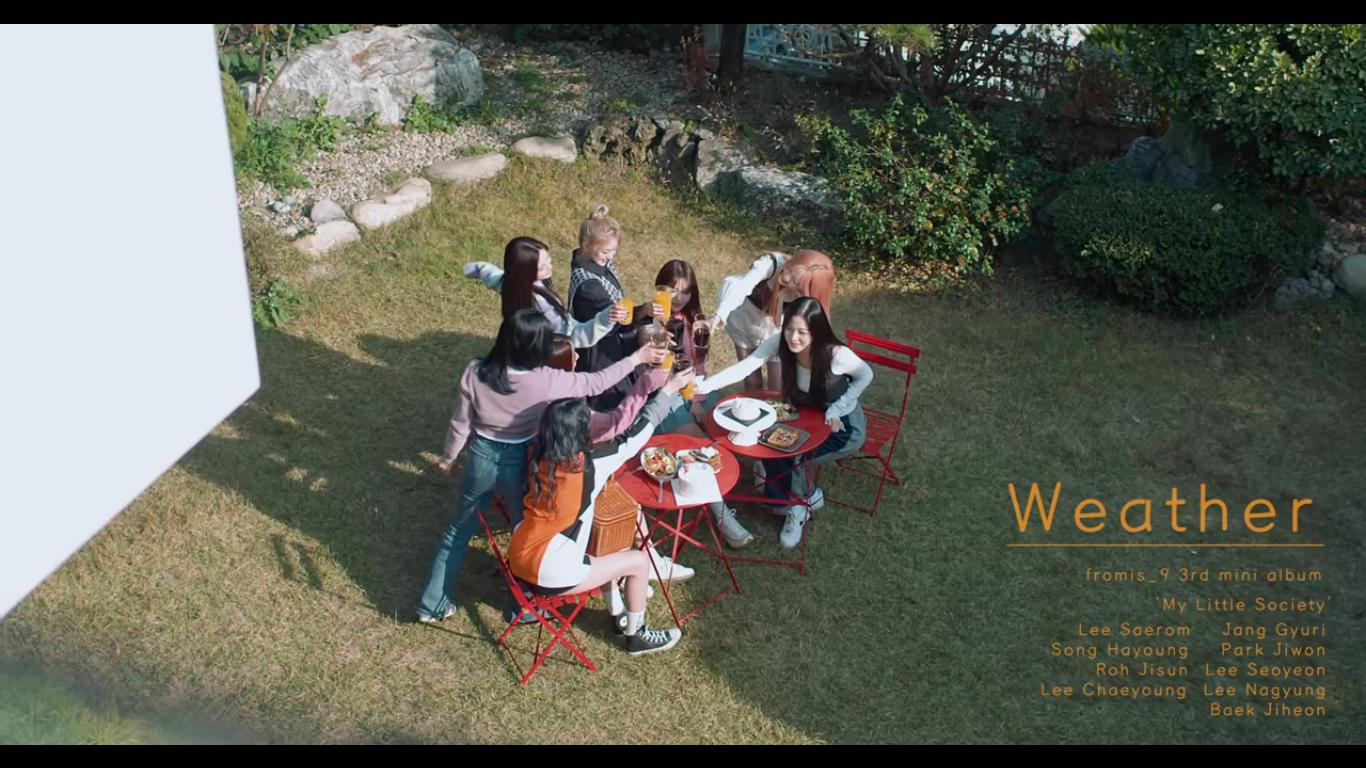 fromis_9 Surprise Fans By Releasing Special B-side Single MV 'Weather'