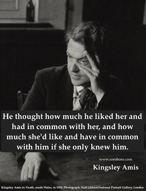 Kingsley Amis Quotes, Kingsley Amis Poems, Sir Kingsley William Amis Short Famous Work, Life Quotes, Status,quotes,inspirationalquotes,motivational quotes,photos