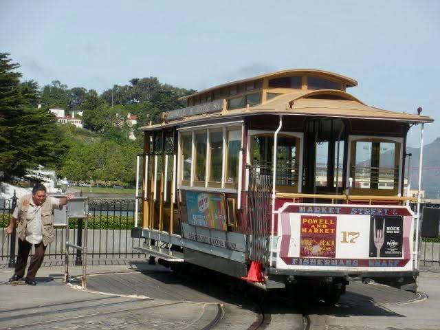 Barbary Coast Trail - Cable Car Terminus