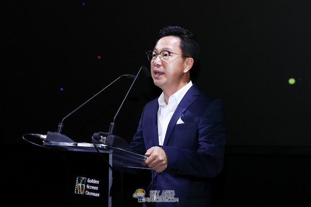 Mr. Yoon Soo Kim, President of Samsung Malaysia Electronics  GSC x Samsung Onyx Cinema LED Screen Launch