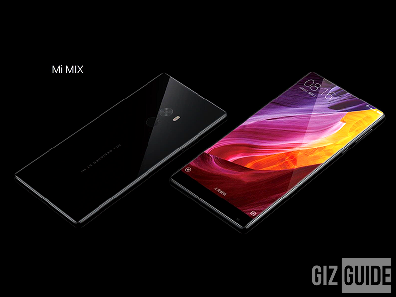 Xiaomi Announces The Mi MIX Flagship of the Future, Price Starts Around 25K!