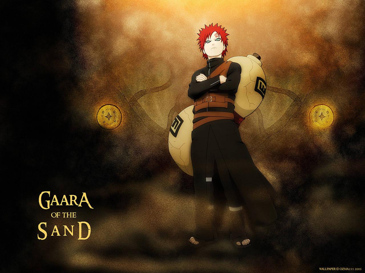Gaara 3d Wallpaper Hd Naruto Wallpapers